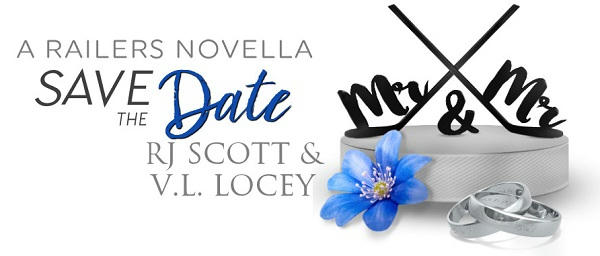 R.J. Scott & V.L. Locey - Save The Date Banner