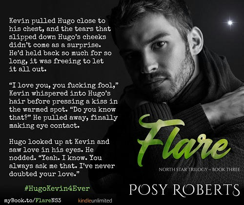Posy Roberts - Flare Teaser