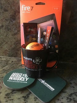 Layla Reyne - Agents Irish & Whiskey Giveaway 1