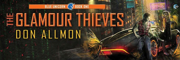 Don Allmon - The Glamour Thieves Banner