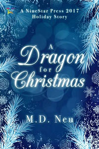 M.D. Neu - A Dragon for Christmas Cover