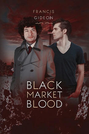 Francis Gideon - Black Market Blood Cover