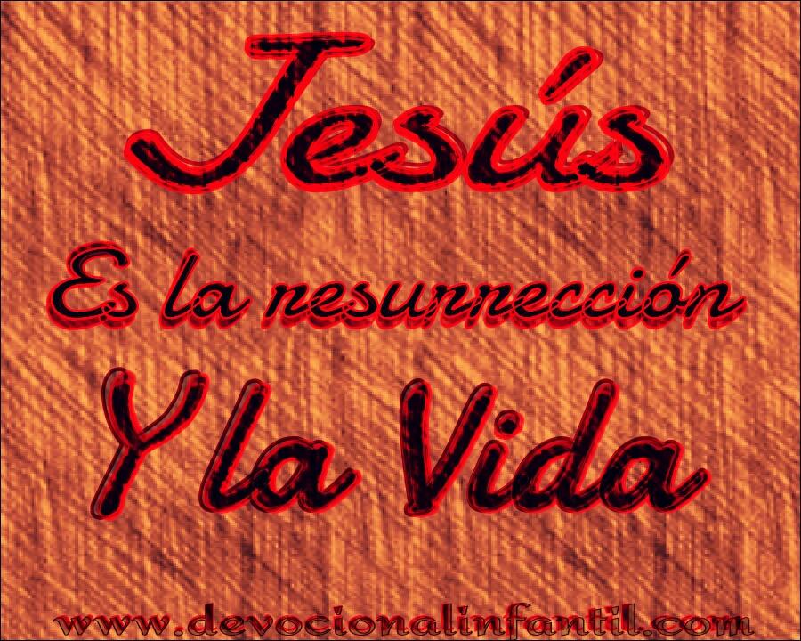 La Resurrección y la Vida – Tarjeta