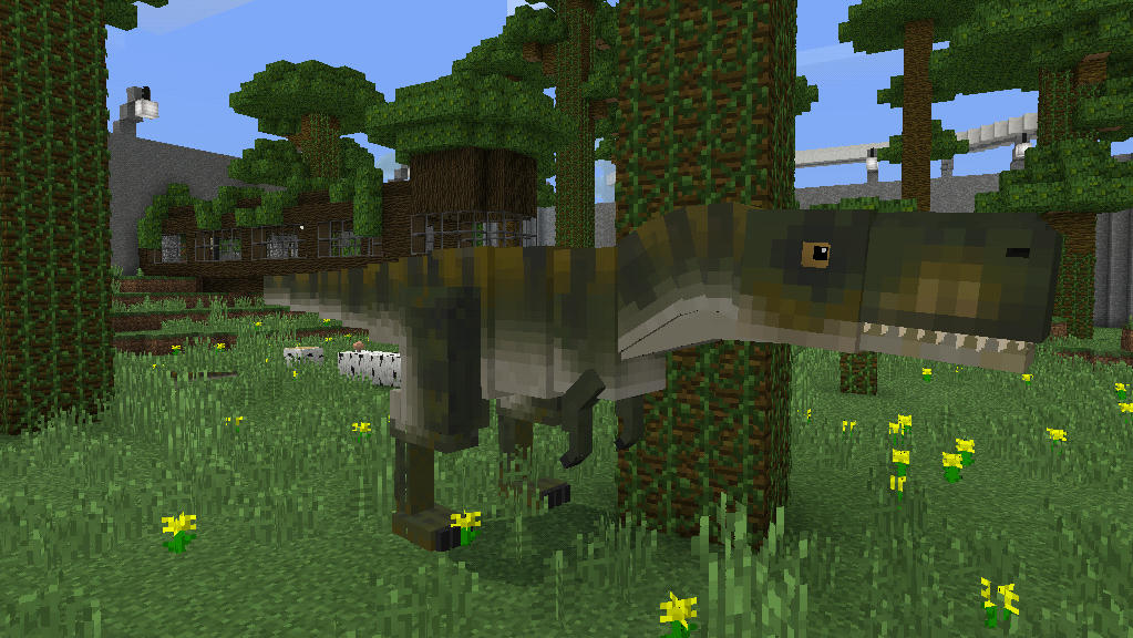 Jurassic Craft Add-On! Add Dinosaurs to your Minecraft PE