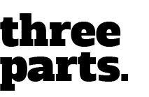 three parts text