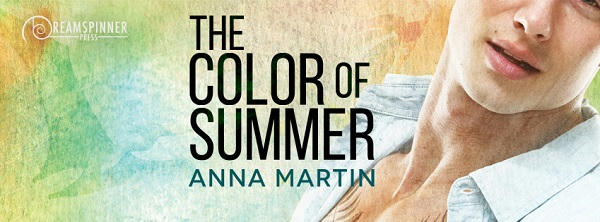 Anna Martin - The Color Of Summer Banner