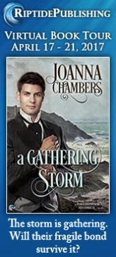 Joanna Chambers - A Gathering Storm Badge