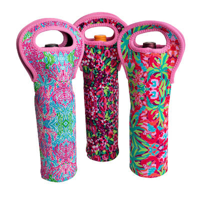 Lilly Pulitzer Wine Totes