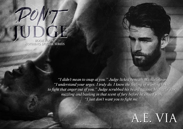 A.E. Via - Don't Judge Audio Promo 1
