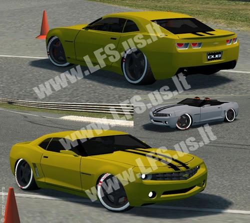 FZ - Chevrolet Camaro Convertible and Sedan