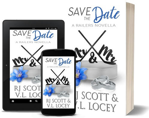 R.J. Scott & V.L. Locey - Save The Date 3d Promo