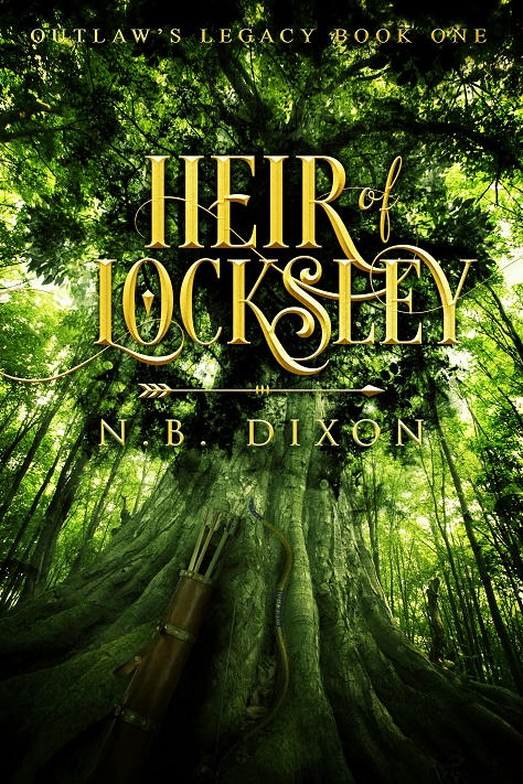 N.B. Dixon - Heir of Locksley Cover