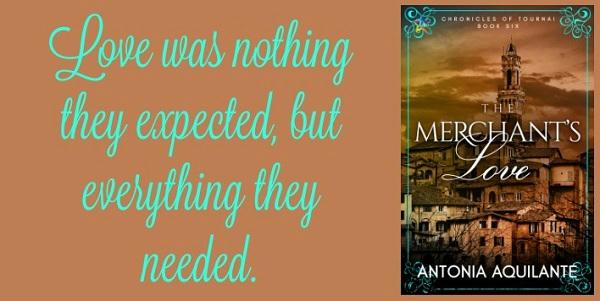 Antonia Aquilante - The Merchant's Love Teaser Graphic