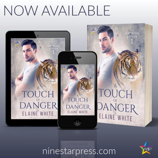 Elaine White - A Touch of Danger Now Available