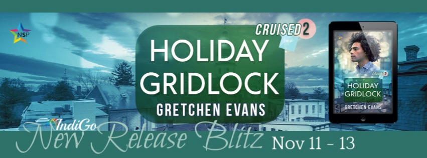 Gretchen Evans - Holiday Gridlock RB Banner