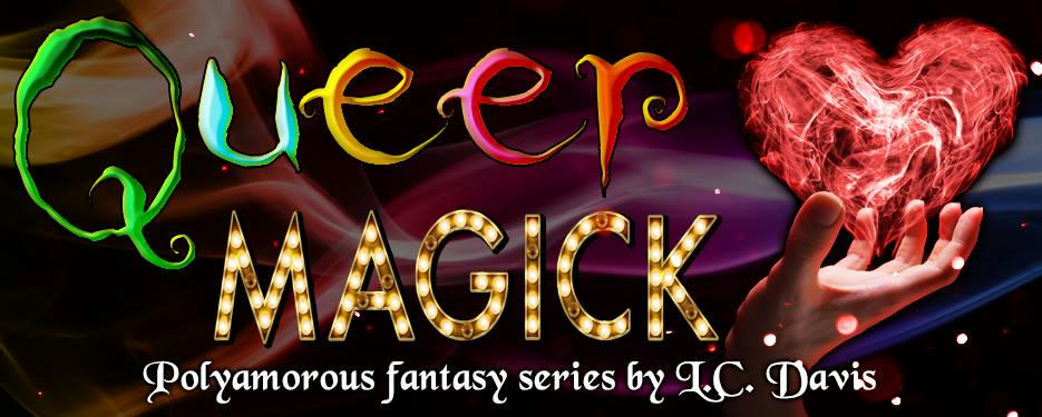 L.C. Davis - Queer Magic Banner