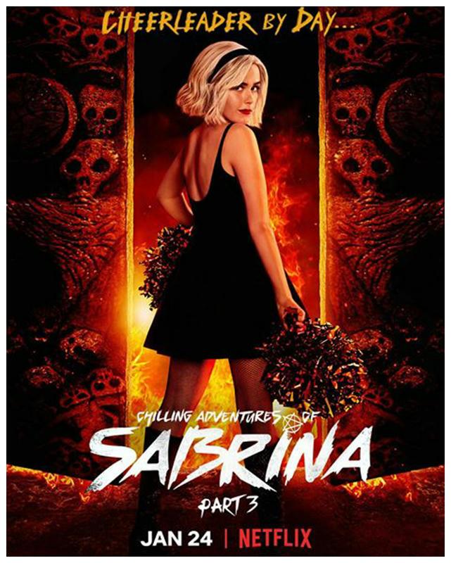 El 24 de enero regresaran las escalofriantes aventuras de Sabrina Spellman