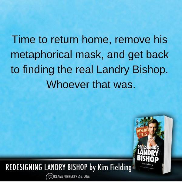 Kim Fielding - Redesigning Landry Bishop Promo