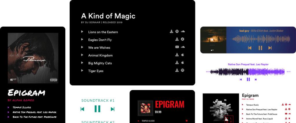 افزونه MP3 Music Player PRO