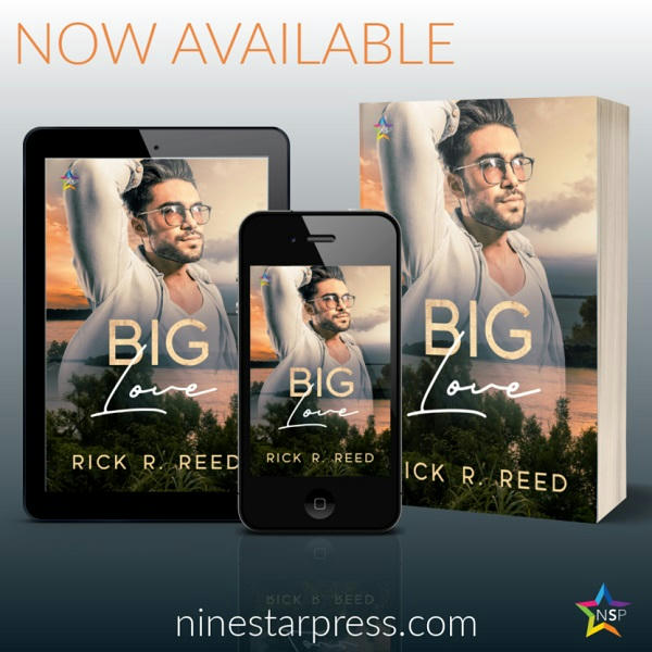 Rick R. Reed - Big Love Now Available