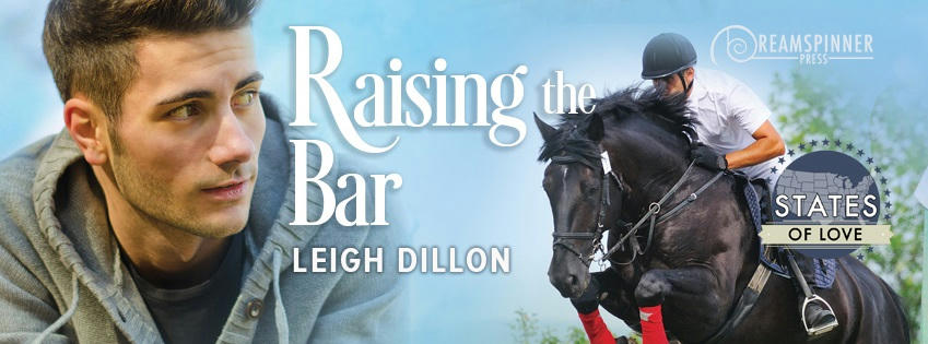 Leigh Dillon - Raising The Bar Banner