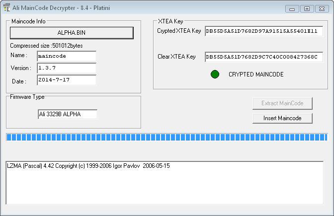 برنامج FirmwareDecrypterV 0 8 لفك الضغط على جميع معالجات