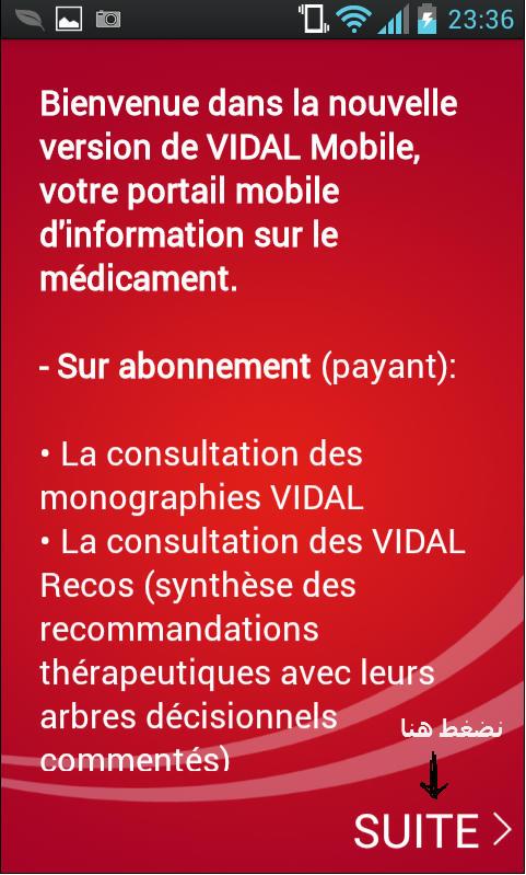 vidal monographie 2012