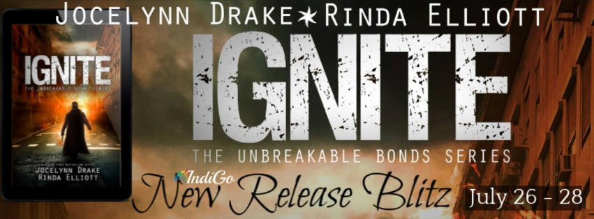 Jocelynn Drake and Rinda Elliott - Ignite RB Banner
