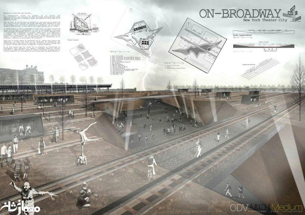 نمونه پوستر معماری