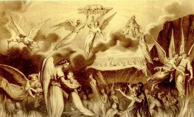 El Cordero de Dios. Almas del Purgatorio. Divider8