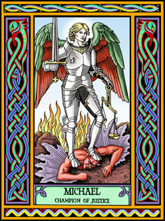 Arcangel San Miguel. Divider7