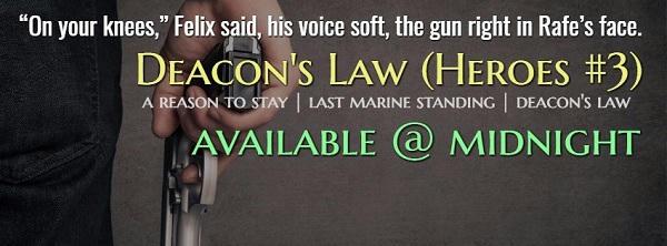 R.J. Scott - Deacon's Law Teaser Banner