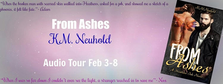 K.M. Neuhold - From Ashes Audio Banner