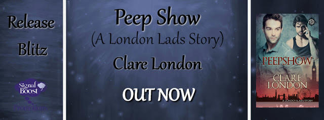 Clare London - Peep Show RB Banner