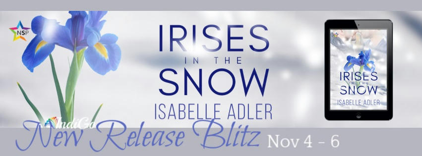 Isabelle Adler - Irises in the Snow RB Banner