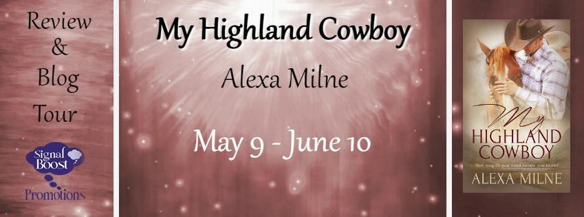 Alexa Milne - My Highland Cowboy RT Banner
