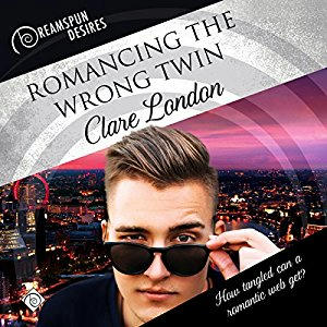 Clare London - Romancing the Wrong Twin Cover Audio