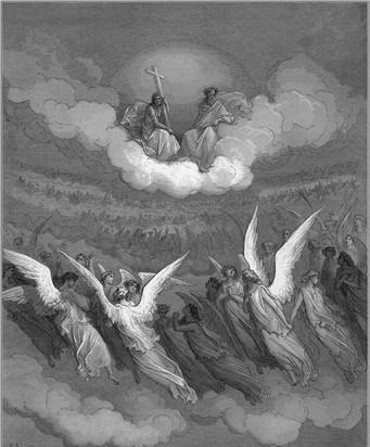 Los Angeles conducen las almas hacia Dios para ser juzgados - divider3