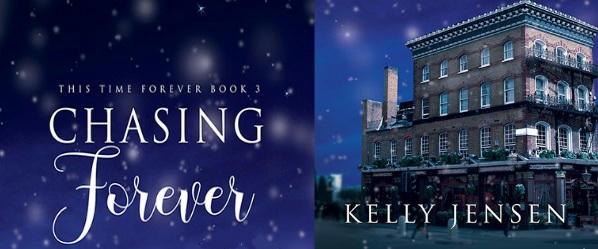 Kelly Jensen - Chasing Forever Banner