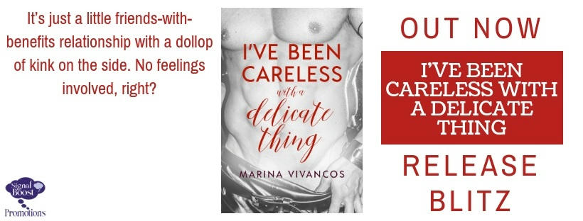 Marina Vivancos - I've Been Careless With A Delicate Thing RBBanner