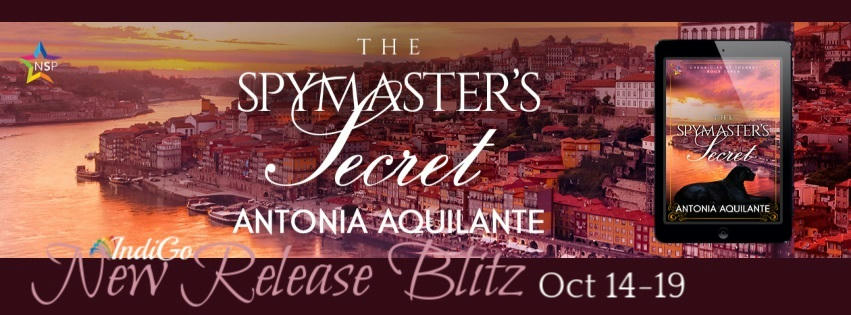 Antonia Aquilante - The Spymaster's Secret RB Banner