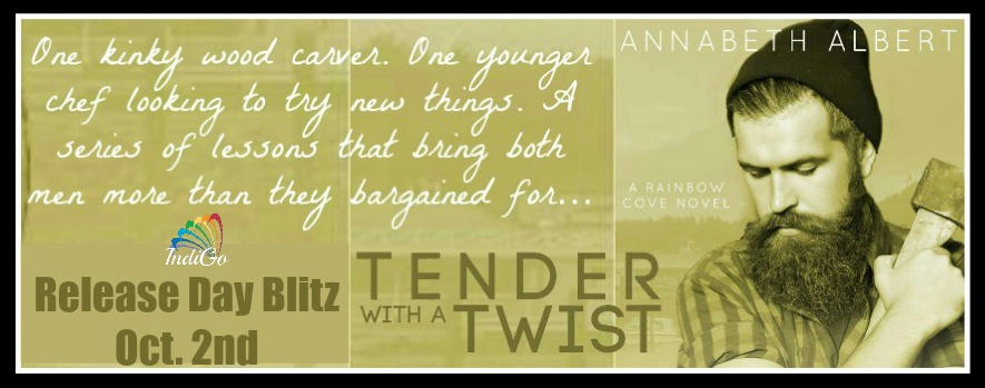Annabeth Albert - Tender with a Twist Tender with a Twist RB Banner