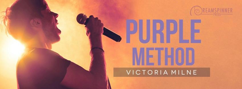 Victoria Milne - Purple Method Banner