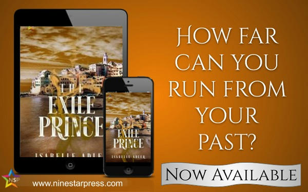Isabelle Adler - The Exile Prince Now Available