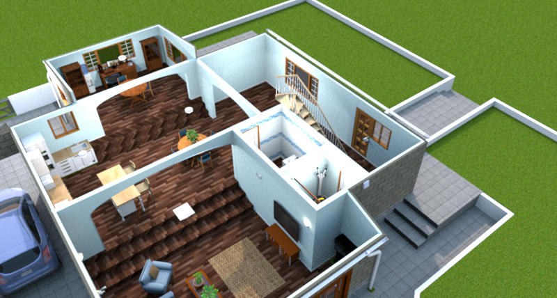 Sweet home 3d forum view thread chalet for Sweet home 3d telecharger meubles