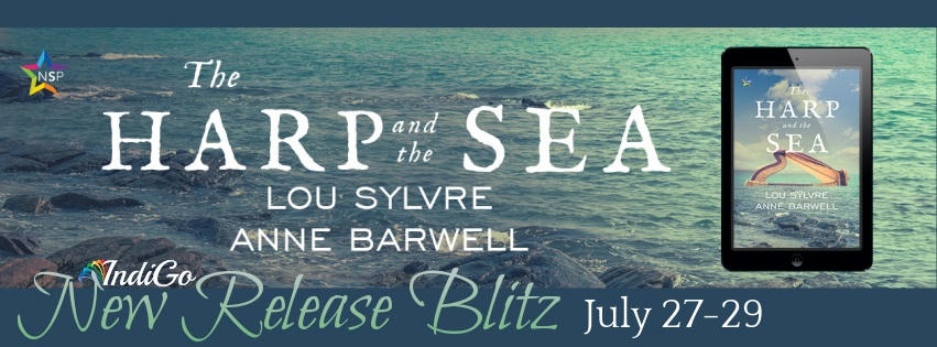 Lou Sylvre & Anne Barwell - The Harp and the Sea RB Banner