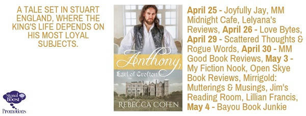 Rebecca Cohen - Anthony, Earl Of Crofton TOURGRAPHIC-15
