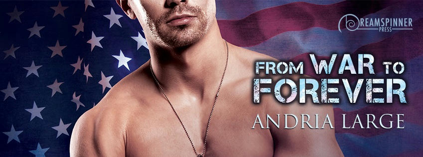 Andria Large - From War to Forever Banner