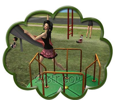 The Sims 2 Apartment Life Apartman Hayatı Playground Oyun Parkı