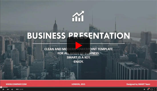 CORPORATE - Business Focused PowerPoint Template